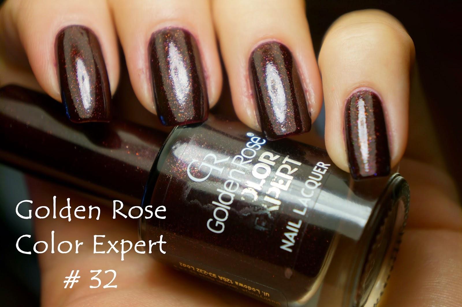 Golden Rose color expert #32 , czyli kosmiczne bordo