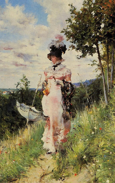 Giovanni Boldini, The summer stroll