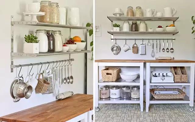 Espacios acogedores cocina perfecta para espacio peque o - Decorar paredes de cocina ...