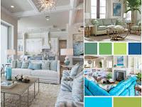 Aqua Living Room Color Scheme