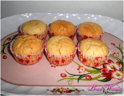 Resepi Muffin Oren Sunquick Sedap. Cara Buat Muffin Oren Simple Senang