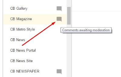 Notifikasi Komentar Kembali Muncul di Dashboard Blogger