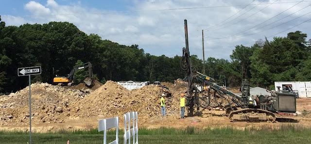 LCPS construction near Brambleton's new homes in Northern VA.