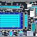مشروع مسبح نصف اولمبي 25X14 اوتوكاد dwg