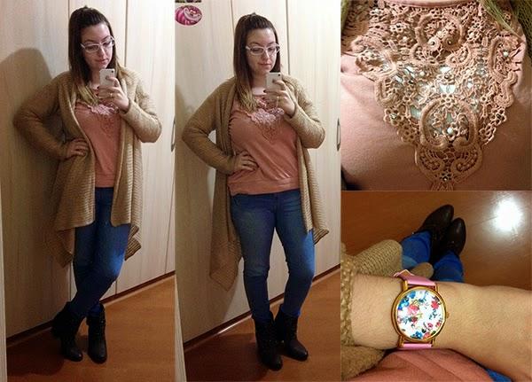 Looks da semana: Casaco bege, blazer de onça, sneaker rosa, camisa pink, vestido poá, cachecol de onça