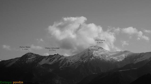 Zoom hacia la Montaña Palentina