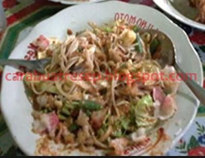 Foto Resep Mie Kuah Pecel Sederhana Spesial Asli Enak