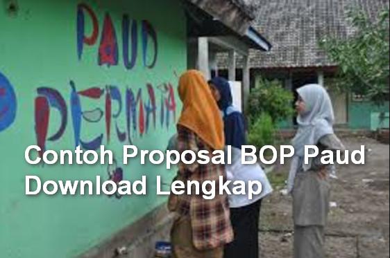 Contoh Proposal BOP Paud Download Lengkap
