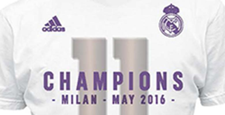 20fec3146 Real Madrid 2015-16 Champions League Winners Shirt Revealed - Footy ...