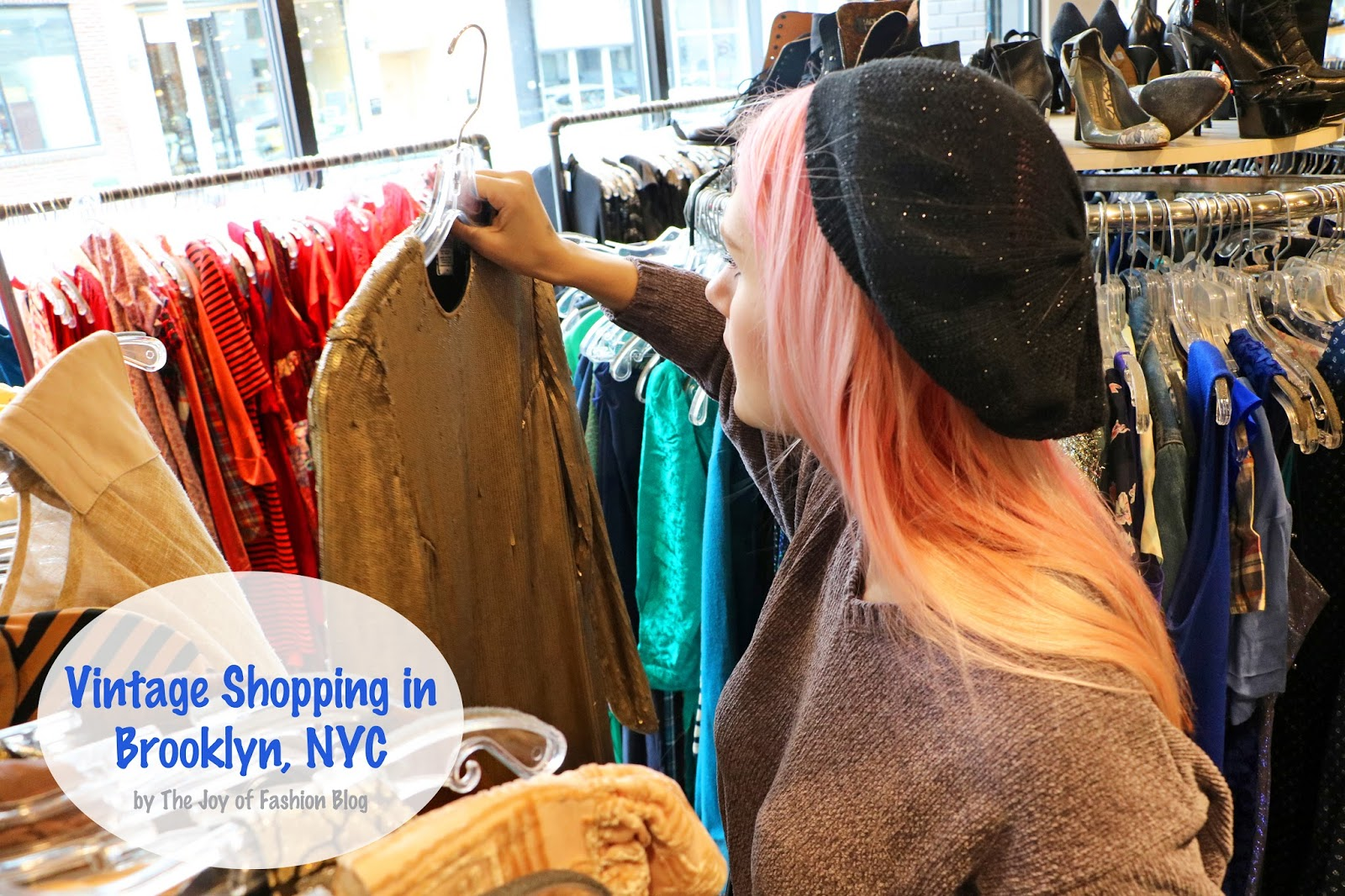When visiting Brooklyn New York, be sure to check out Beacon's Closet for some amazing Vintage and second-hand clothing!