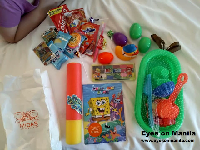 Midas Hotel Easter Party Loot Bag