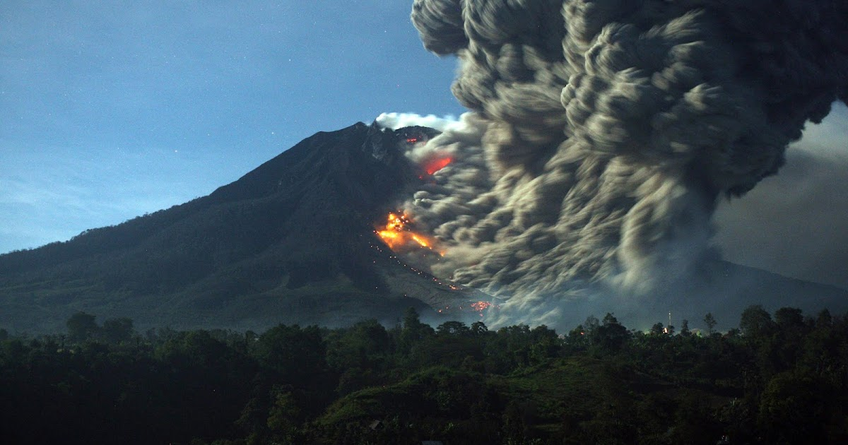 The Big Wobble: A second Indonesian volcano erupts! Mount ...