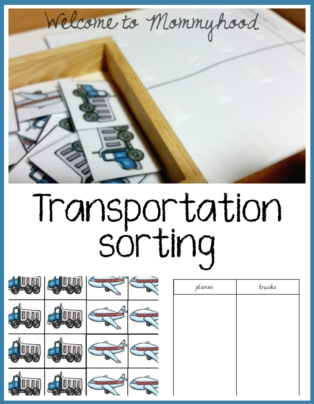 Transportation themed toddler shelves - Welcome to Mommyhood