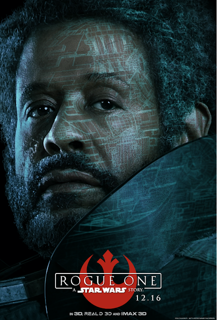 character posters from ROGUE ONE: A STAR WARS STORY