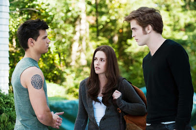 The Twilight Saga: Eclipse: Taylor Lautner - Kristen Stewart and Robert Pattinson  | A Constantly Racing Mind