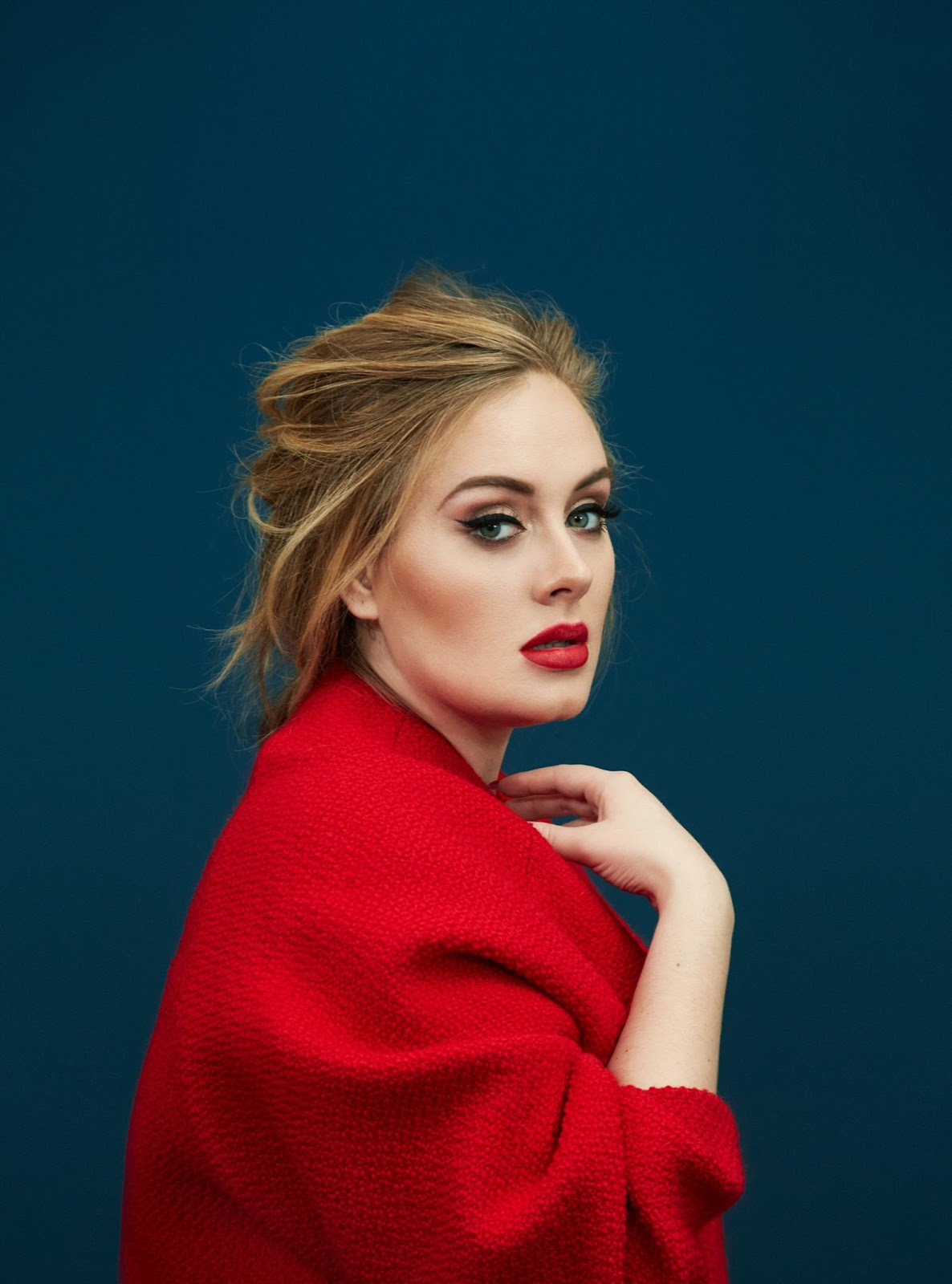 Adele In Time Magazine December 28th, 2015 By Erik Madigan
