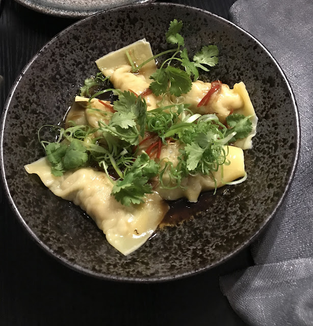 Chinacy, South Yarra, chicken and scallop dumplings