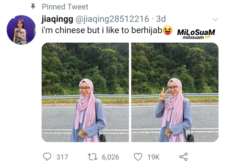 Gadis Cina Bukan Islam Suka Berhijab