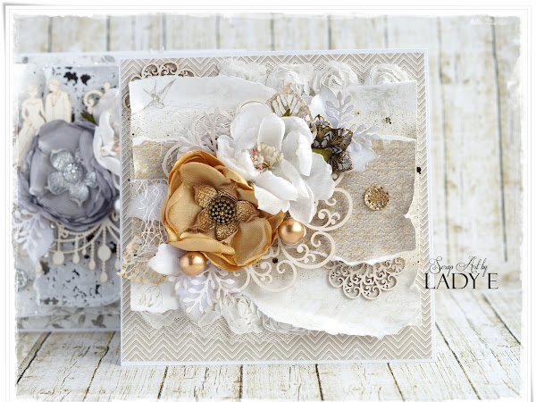 2 Wedding cards & Video Tutorial / 2 Kartki Ślubne i Kursik Video Scrapiniec DT