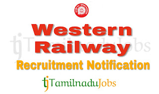 Western Railway Recruitment notification 2018, govt jobs for ITI,