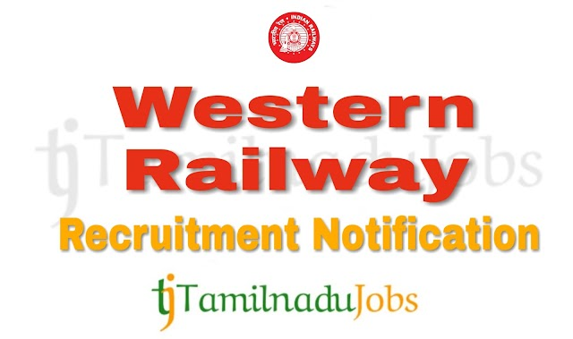 Western Railway Recruitment notification of 2018 - for Apprentices - 3553 post