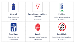 driving license rta theory test