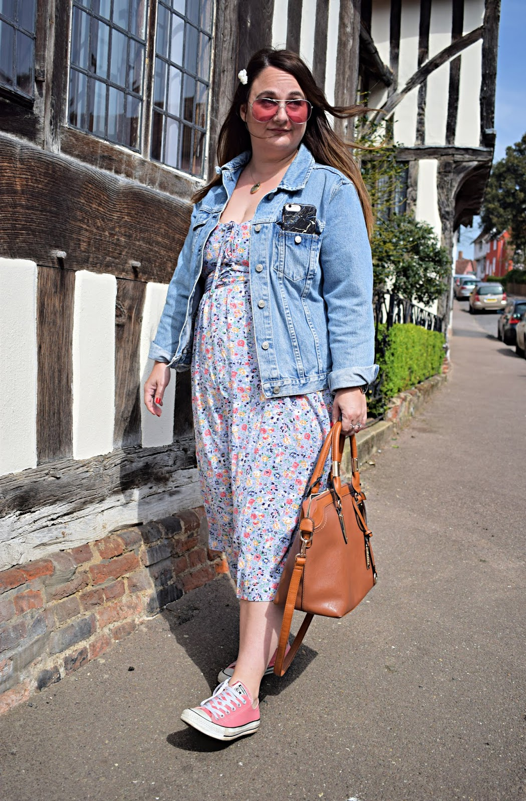 How to wear florals when you're not a girly girl