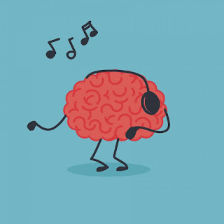 brain addicted to music