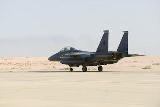 Jet Tempur F-15 USAF