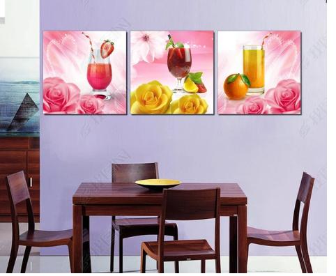 Tranh bộ treo tường cho nhà hàng hiện đại