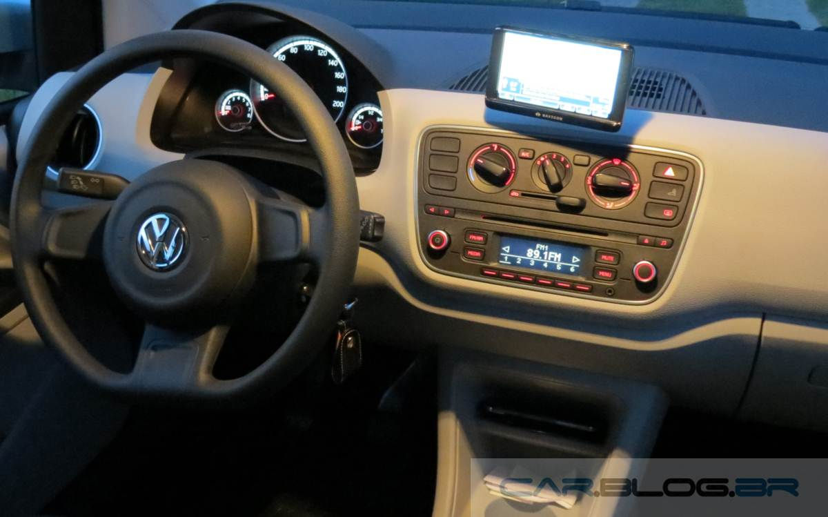 Volkswagen up! 1.0 - consumo