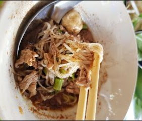 Kway Teow Rua (Boat Noodle)