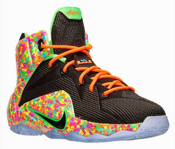 THE SNEAKER ADDICT: Nike LeBron 12 'Cereal/Fruity Pebbles ...