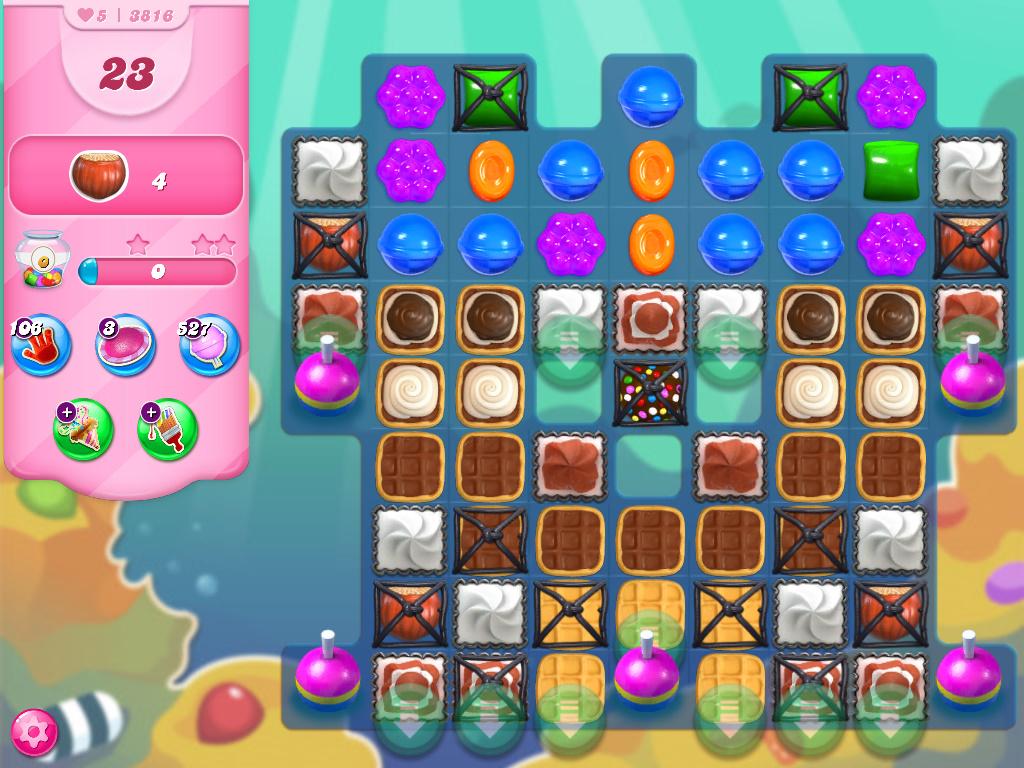 Candy Crush Saga level 3816