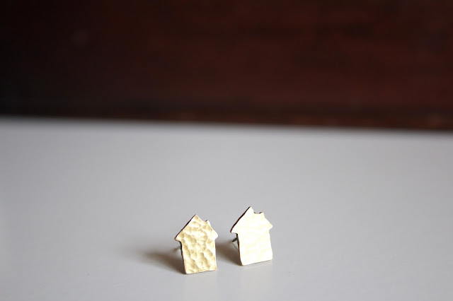 Fair Trade 'House' Earrings.