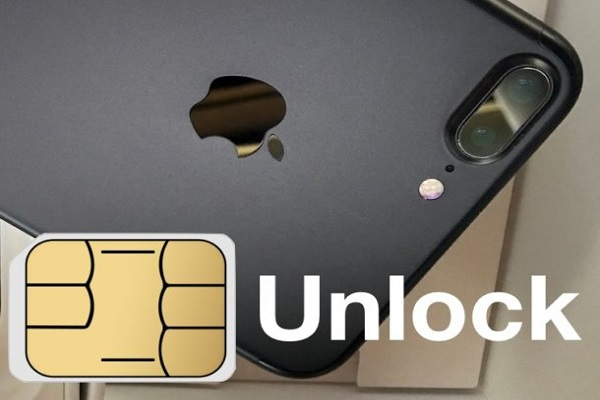 Unlock iphone 7 bằng sim ghép