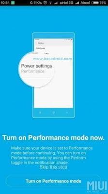 Cara Mengaktifkan Mode Performance Xiaomi Redmi 3 dan Redmi 3 Pro Tanpa Root