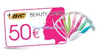 Logo Concorso ''Più Bella con Bic'': vinci buoni spesa da 50€