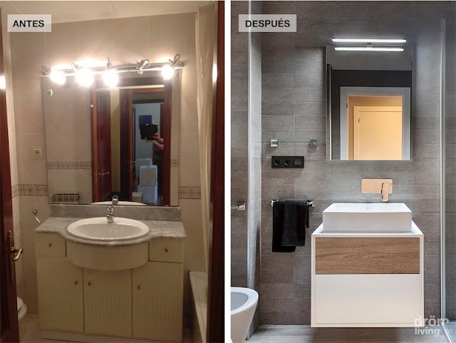 antes y después de una vivienda reformada por completo chicanddeco