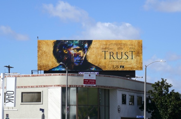 Trust series launch billboard