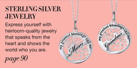 Avon Sterling Silver Jewelry