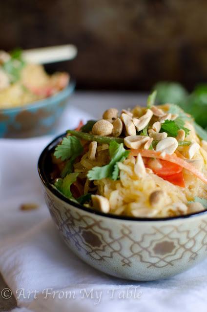 thai style spaghetti squash recipe