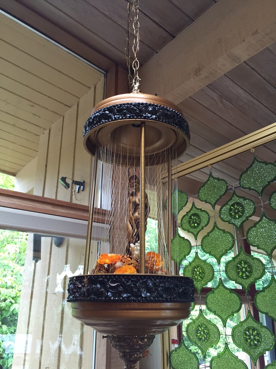 Vintage Clothing Do You Think Its Coming Back: How To Clean A Vintage Rain Lamp