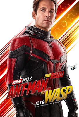 Marvel's Ant-Man and the Wasp Theatrical One Sheet Character Movie Poster Set