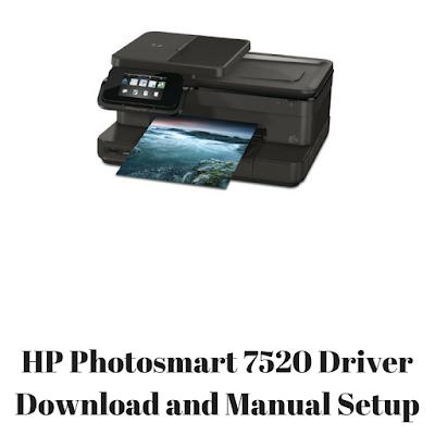 HP Photosmart 7520 Driver Download and Manual Setup