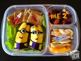 despicable me school lunch