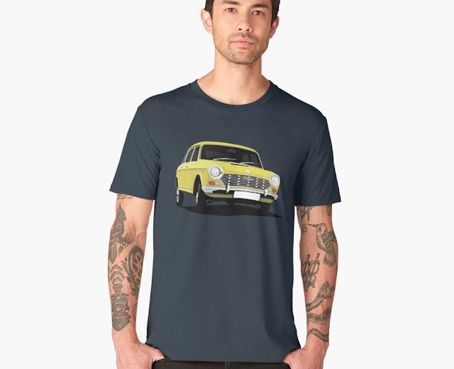 """Austin 1800 - 2200 """"Landgrab"""" - t-shirt"""
