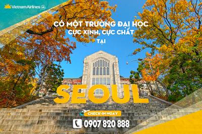 Đi Seoul tham quan Đại học Nữ giới Ewha