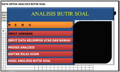 Aplikasi Analisis Soal Kurikulum 2013 Dilengkapi Persentase Kelulusan