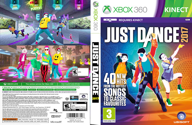 Capa Just Dance 2017 Xbox 360